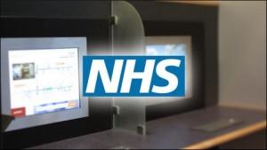 NHS Touch Screen Kiosk